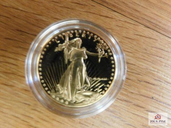 1986 1-ounce $50 Gold Proof Coin