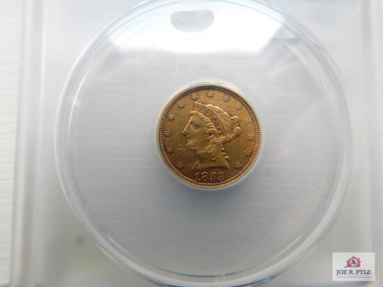 1853 $2.50 Dollar Liberty Gold Coin
