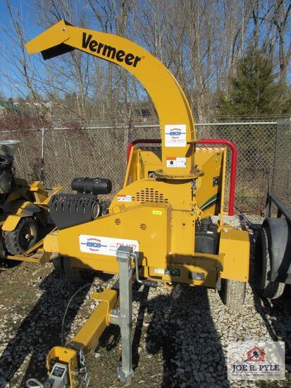 2019 Vermeer Bc700 Wood Chipper / 73 Hours