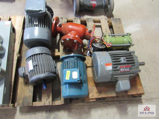 Pallet Of Electric Motors