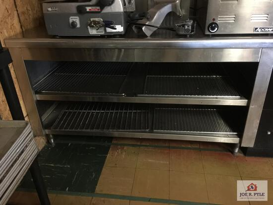 """Stainless steel prep table 60"""" x 30"""" x 36"""""""