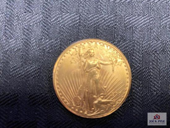 US $20 Liberty Gold Piece (1927)