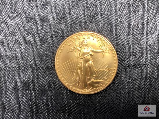 US $50 Liberty Gold Piece (1oz)