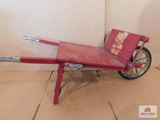 Vintage Childs Wheelbarrow
