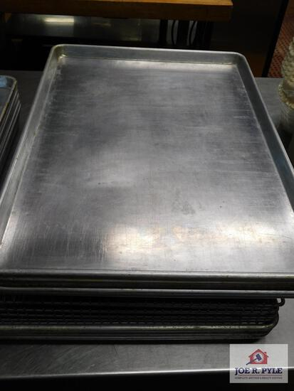 Baking sheets and cooling racks