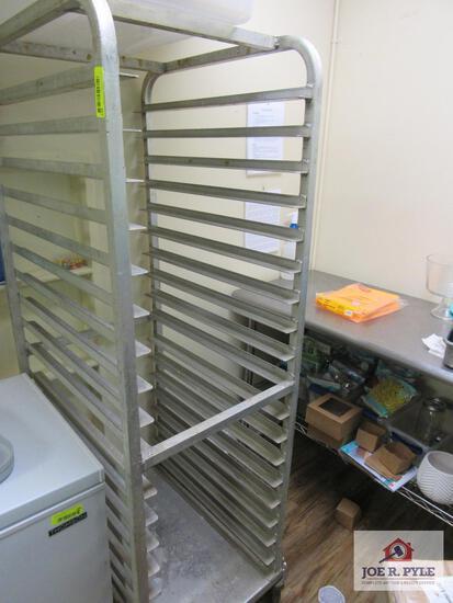aluminum bakers rack