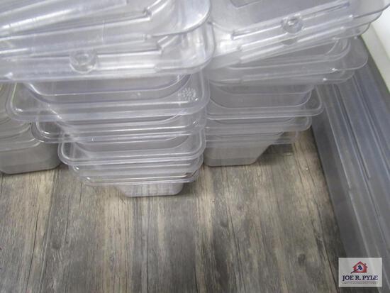 Lexan 1/6 size 4 inch deep pans