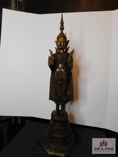 "Cast metal Hindu statue called ""Sheba"""