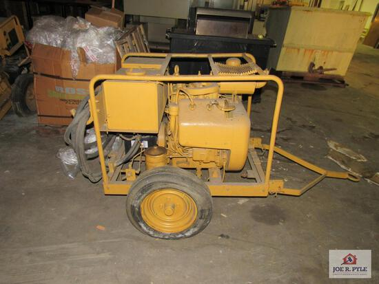US Army generator set model: JHGV75A Wisconsin engine