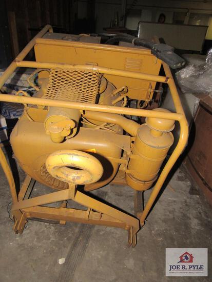 generator w Wisconsin gasoline engine model: JHV758