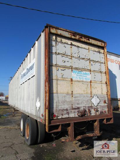 53 ft storage trailer (no title)