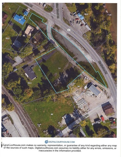 Flat Commercial Lot Sold to the Highest Bidder