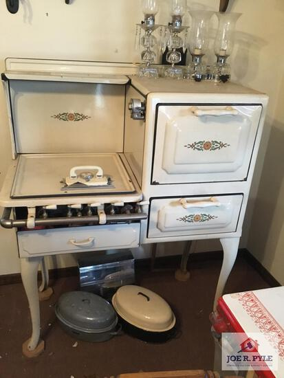 Favorite Porcelain cast iron stove