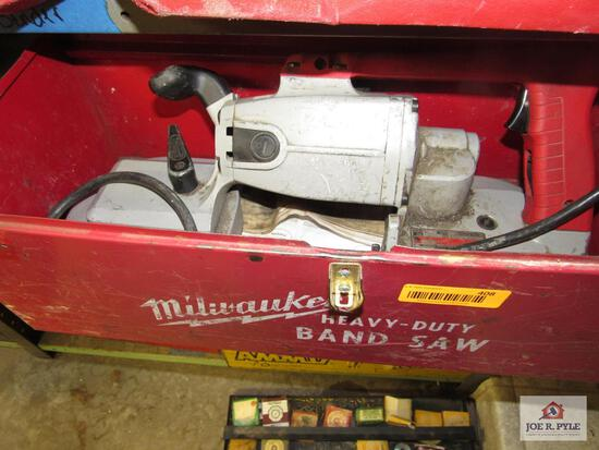 Milwaukee ban saw metal case