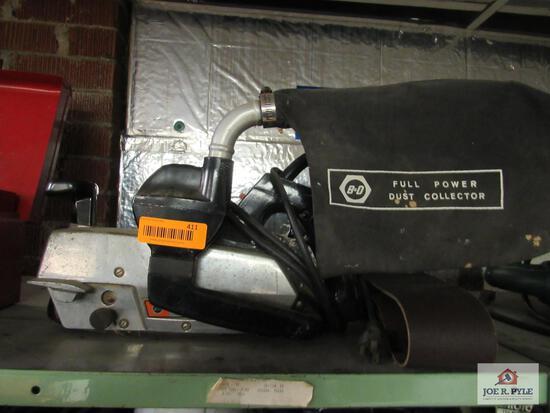 Black and decker super duty belt sander