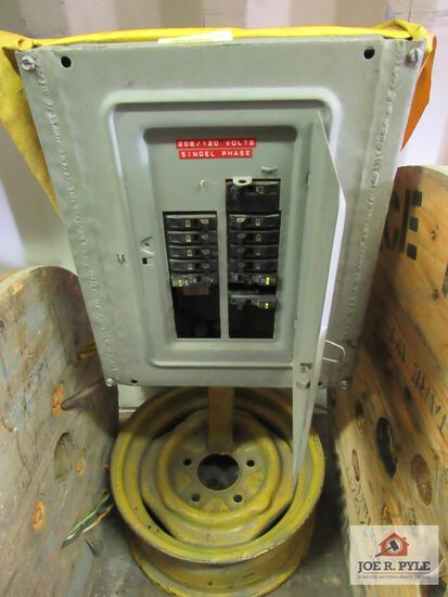 Square D Breaker Box 100 AMP