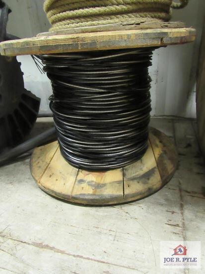Roll of #6 Tri Plex Service Entrance Wire