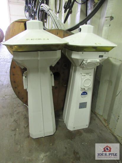2 Marine Pedestals