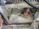 Steel cart w wheels