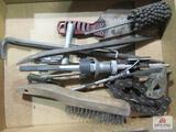 Flat of Misc. Tools