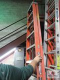 Louisville fiberglass ladder 10ft