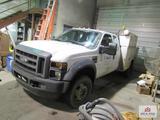 2010 Ford F450 XL Super Duty V8 Power Stroke Work truck / Knapheide Bed with LiftMoore Hoist /