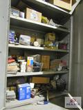 Grey Steel Cabinets with Lights, Brakes, Airbrake Parts