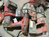 18V Milwaukee Tools with Charger
