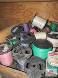 30 Partial Rolls of Misc. Wire