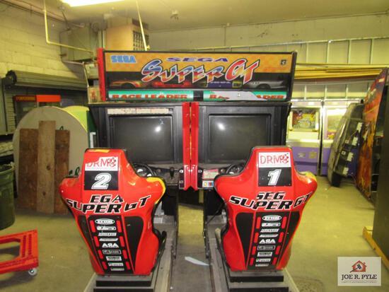 2 player Sega GT racing game