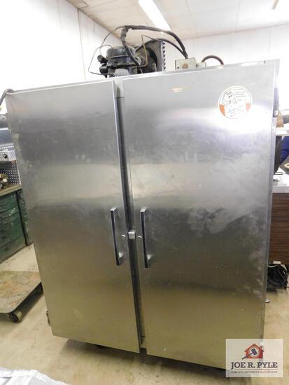 "Commercial refrigerator 70"" x 64.5"""