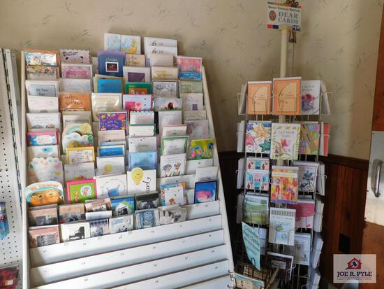 Greeting cards and displays