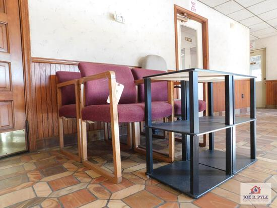Chairs and side tables