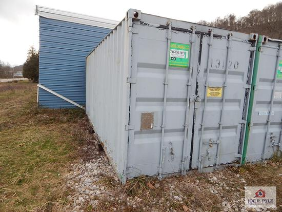 20' Dry storage sea containers