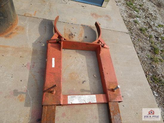 Pallet Forks Steel Drum Carrier
