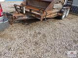 Sure-Trac Bumper pull trailer w/ ramps