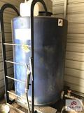 Approx. 300 gal steel clean oil tank