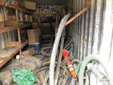 Contents of storage container: suction hose, fuel filters, air filters and misc. filters