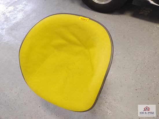 1 yellow Herman Miller chairs