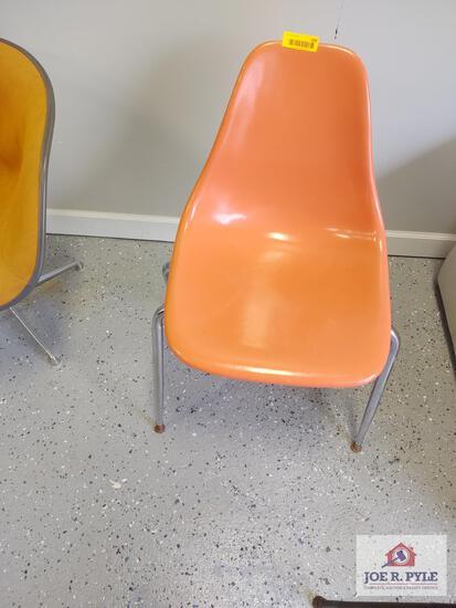 Vintage fiberglass chair
