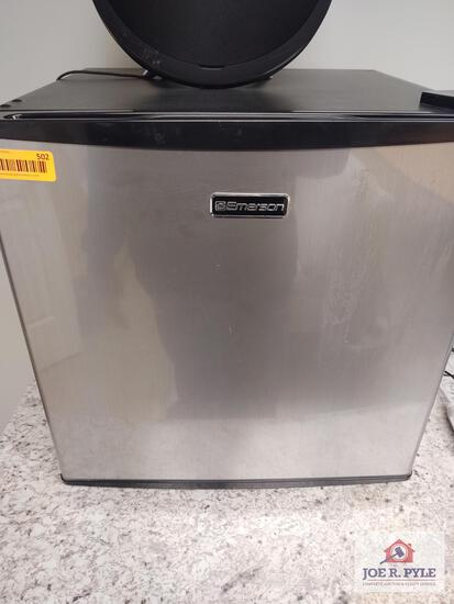 Emerson mini fridge