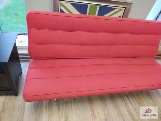 Herman Miller vintage red couch