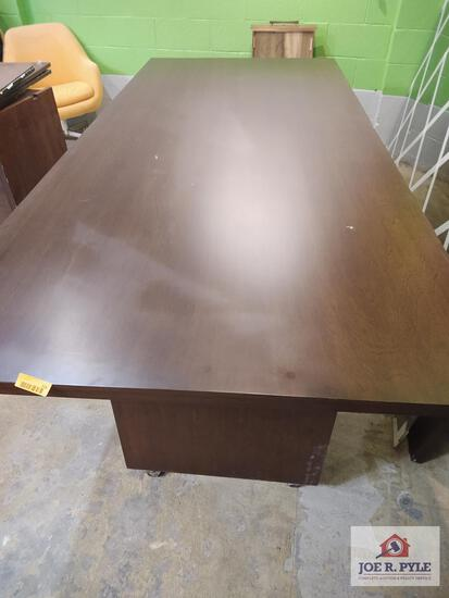 Conference table approx. 8ft