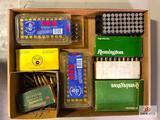 (151) Lot of brass casings: 9 MM- .222 REM- .25-06