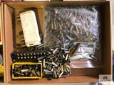 (152) Lot of misc. casings: .357 MAG- .308- .44 MAG- etc