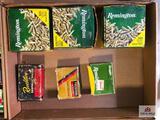 (143) Lot of ammunition: .22 LR and Shotgun slugs