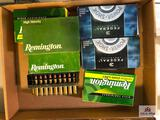 (144) Lot of ammunition: .270 WIN- .280 REM- .7 MAG (full & partial bxs)