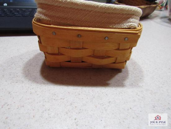 Longaberger Basket Business Card Holder 2002