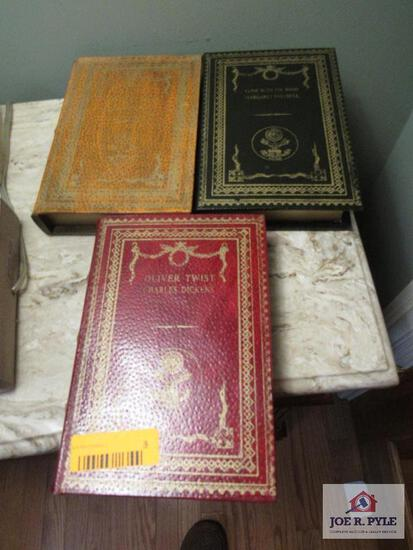 (3) Book Boxes