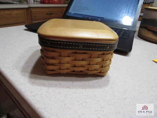 Longaberger Basket Pocket Change Father Day Edition 2003